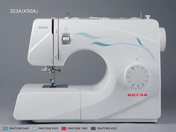 خرید چرخ خیاطی گلدوزی ریکار - مدل 323A