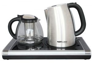 چای ساز و کتری جوش صفحه ای ایلماس - برلیانت مدل BTM-4700