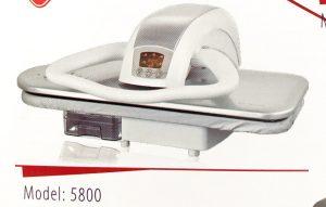 اتوپرس ژانومه نقره ای دسته سفید مدل 5800